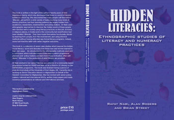 Hidden Literacies Cover