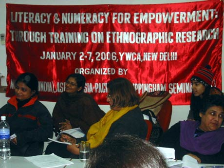 Women at training workshop